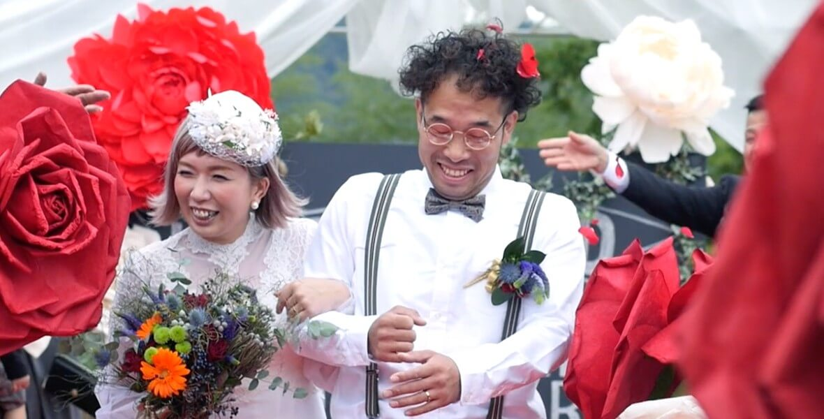SHINICHIRO + ERINA / WEDDING CINEMA