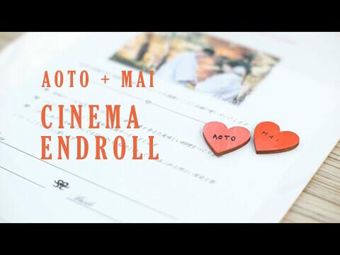 AOTO + MAI / CINEMA ENDROLL